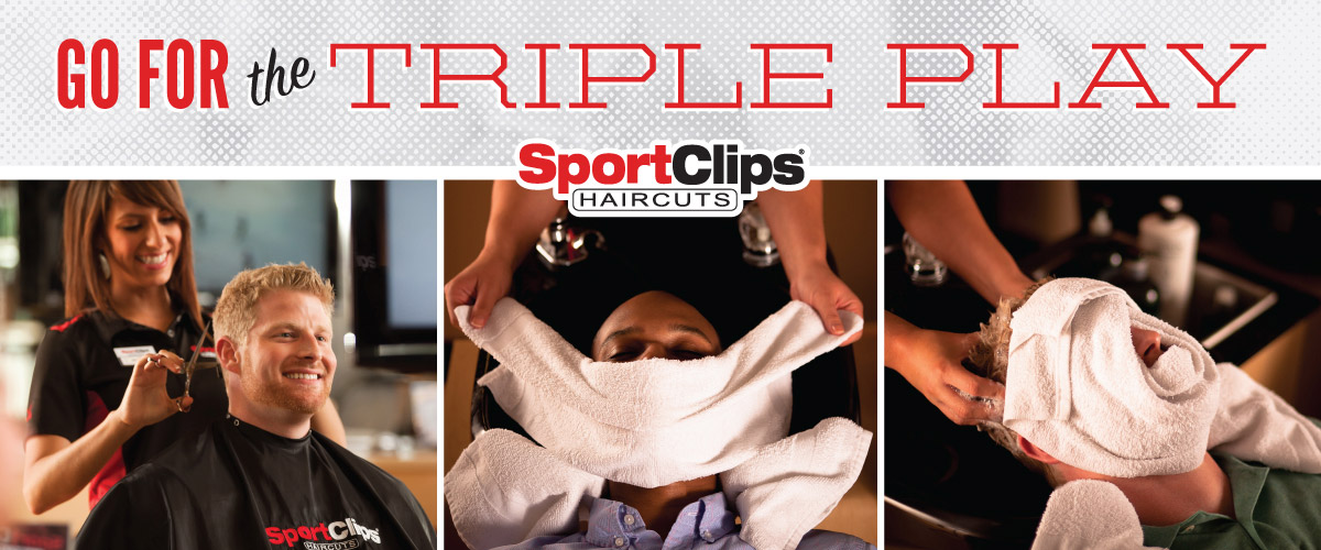 The Sport Clips Haircuts of Anaheim Hills Imperial Canyon Triple Play